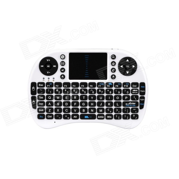 Ipazzport mouse teclado sem fio 2.4GHz para android TV / PC (2 x aaa)