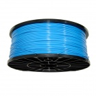 1.75mm Diameter 3D Printer Supplies ABS Cable - Blue + Black (300m)