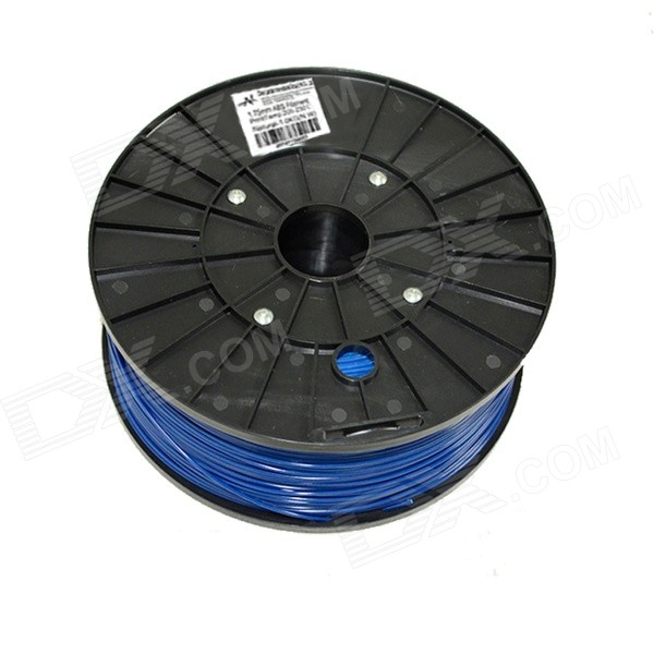 1.75mm Diameter 3D Printer Supplies ABS Cable - Deep Blue (300m)