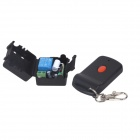 ZnDiy-BRY 12V 1CH 1 Button Wireless Remote Control Switch Kit - Black