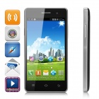 "H9008 4.0"" Screen Android 4.4.2 WCDMA Phone w/ Dual-Cam, Dual-SIM, GPS, TF - Black + Silver"