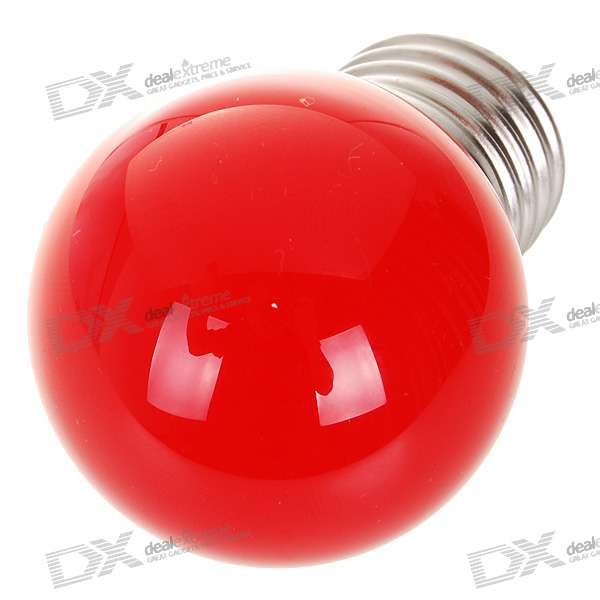 E27 0.7W 7-LED 25-Lumen Red Light Lamp Bulb (85~265V AC) e27 6w 6 led 540 lumen 6000k white light bulb 85 265v ac