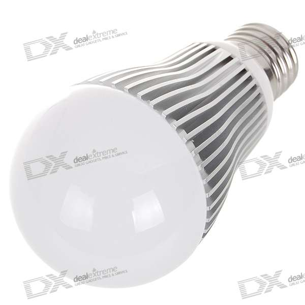 E27 6W 6-LED 540-Lumen 6000K White Light Bulb (85~265V AC) e27 9w 9 led 810 lumen 6000k white light bulb 85 265v ac