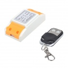 ZnDiy-BRY 220V 1CH Remote Control Switch + Two Keys Metal Push Cover Remote Control