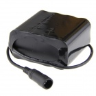 SingFire 8.4V 8000mAh oplaadbare 8 x 18650 Li -ion Battery Pack - Black