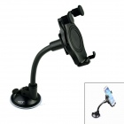 Oumily Universal Suction Cup Plastic Car GPS Navigator / Mobile Phone / PDA Holder Stand - Black