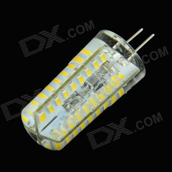 HZLED G4 3W 180lm 3000K 72-3014 SMD LED Warm White Dimming Lamp