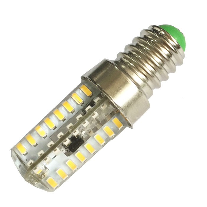 HZLED E14 3W 180lm 3000K 72-3014 SMD LED varm hvit dimming lampe
