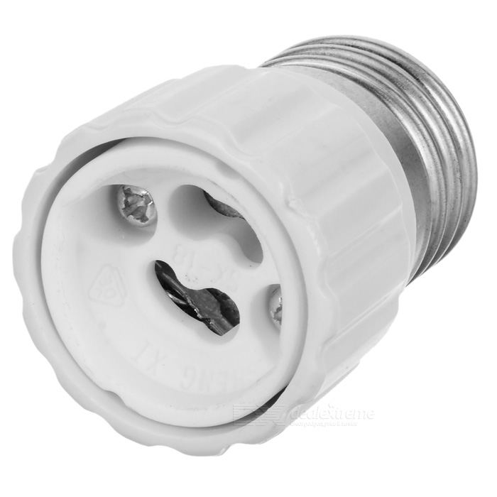 GU10 to E27 Light Lamp Bulb Adapter Converter