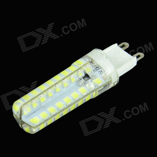 HZLED G9 4W 250LM 6000K 72-2835 SMD LED hvitt dimming lampe