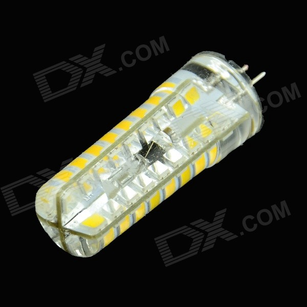 HZLED G4 4W 250lm 3000K 72-2835 SMD LED Warm White Dimming Lamp