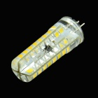 HZLED G4 4W 250lm 3000K 72-2835 SMD LED Warm White Dimming Lampe - weiß (220V AC)