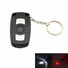 Shock Practical Joke Car Key Style Electronic Shock Toy - Preto