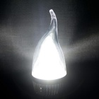 E14 3W LED Cold White Light Candle Bulb - Golden (6PCS)