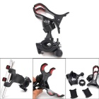 Oumily Bicycle Bike Mount Stand Holder for Mobile Phone / GPS Navigator - Black