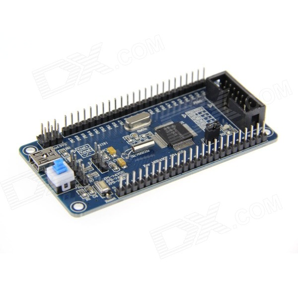 DIY MSP430F247 Minimum System Development Module Board - Deep Blue