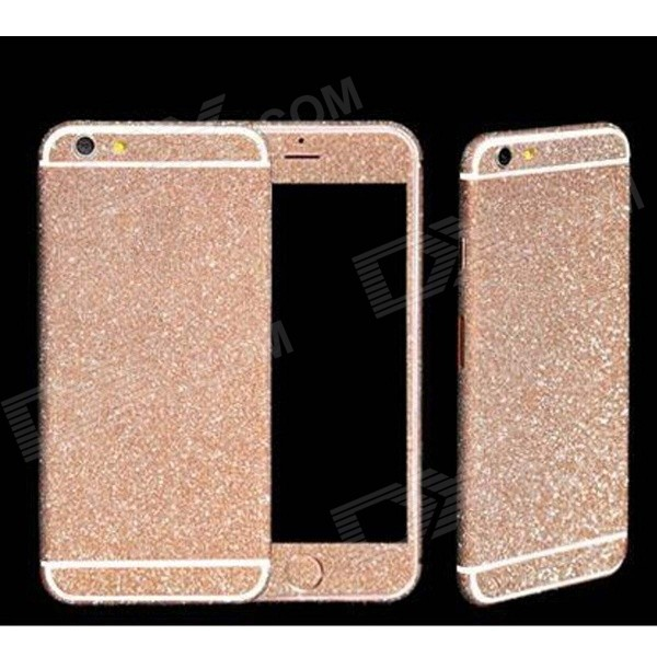 Bling Glitter Corpo Sticker Set para iPhone 6 - Pink