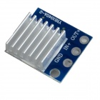 XGHF-8A Backward Current Flow Proof Diode Module Board - Blue + Silver