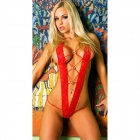 See-Through Spitze ultra sexy Dessous w / T-Back - Red
