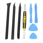 Kaisi K-X1468 Repair Tool Disassemble Kit for IPHONE / IPAD - Black + Blue