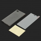 TPU Back Case + Tempered Glass Screen for Xiaomi M3 - Transparent Grey