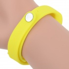 Sports Wrist Band Digital Voice Recorder w/ 8GB RAM - Yellow + Silver