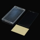 Protective TPU Back Case + Tempered Glass Screen Guard for Xiaomi M3 - Transparent