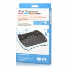 2.4GHz Wireless Keyboard w/ Touchpad / Multimedia Key - Black