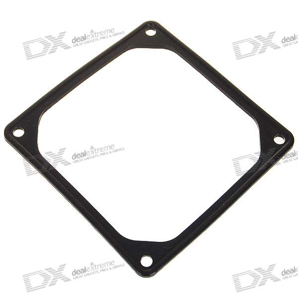 DX / 8CM Silicone Reduced Vibration Ring for Desktop PC - Black