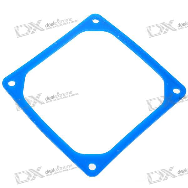 8CM Silicone Reduced Vibration Ring for Desktop PC - Blue 12cm silicone reduced vibration ring for desktop pc white