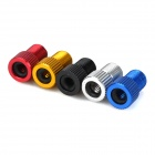 Stylish Presta Válvula Adaptadores para Bike - Preto + Blue ( 5 PCS )