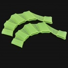 Swiming Silicone Webbed Gloves for Kids - Green (Size S)