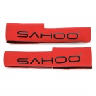 SAHOO Bicycle Front Fork Protecting Cover - Red (Pair)