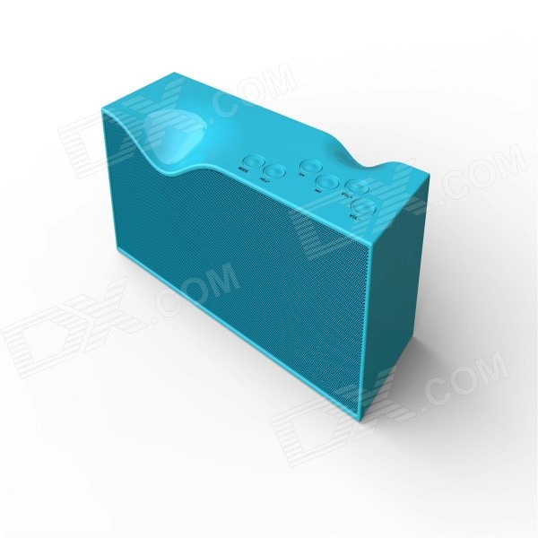 B1 Portable Bluetooth V4.0 Speaker w/ Micro USB / TF Slot - Blue