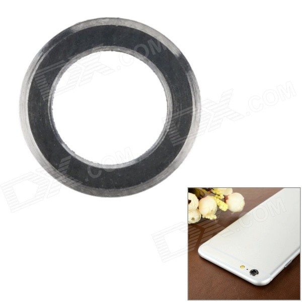 "Aluminum Alloy Lens Guard Ring Sticker for IPHONE 6 Plus 5.5"" - Black"