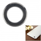 "Protective Aluminum Alloy Lens Guard Ring Sticker for IPHONE 6 Plus 5.5"" - Black"
