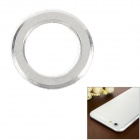 "Protective Aluminum Alloy Lens Guard Ring Sticker for IPHONE 6 4.7"" - Silver"
