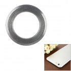 "Protective Aluminum Alloy Lens Guard Ring Sticker for IPHONE 6 Plus 5.5"" - Silver"