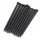 Professional Plastic Styluses for NEW 3DS - Black (10 PCS)