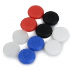 Protective TPU Joystick Caps Set for XBOX ONE - Black + Red (10 PCS)
