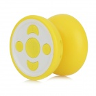 Yo-yo Style MP3 Player w/ TF / 3.5mm / Mini USB - Yellow + White