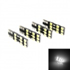 T10 3W 275LM 18 x 2835 SMD LED White Light Car Clearance Light Reading Light (4 PCS / 12V)