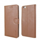 MO.MAT Medo PU + PC Wallet Case w/ Stand / Card Slot / Picture Holder for IPHONE 6 PlUS - Brown