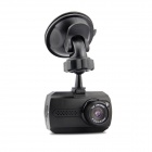 1.5'' TFT Full HD 1080P 3.0MP CMOS 140' Wide-Angle Night Vision Car DVR Camcorder w/ 1 LED - Black