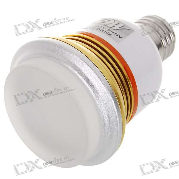 E27 5W 370-Lumen 6000K 3528 SMD LED White Light Bulb (85~265V AC) e27 6w 6 led 540 lumen 6000k white light bulb 85 265v ac
