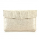 "Oushine Protective PU Leather Bag Shell Jacket for 15"" / 15.4"" MACBOOK PRO RETINA - Golden"