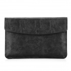 "Oushine Protective PU Leather Bag Shell Jacket for 13"" / 13.3"" MACBOOK PRO RETINA - Black"