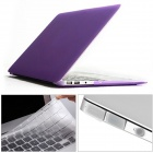 "Mr.northjoe 3-in-1 Matte Hard Case + Keyboard Cover + Anti-dust Plugs for MACBOOK AIR 13.3"" - Purple"