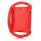 Silicone Back Case w/ Stand / Handles for IPAD MINI 1 / 2 / 3 - Red