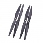 9050 Carbon Fiber Propellers CW/CCW for Quadcopter - Black (2 Pair)